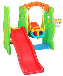 Eduplay Frog Slide And Swing Play Set