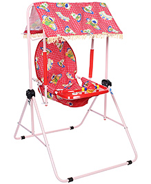 New Natraj Cozy Room Swing Adjustable Cradle - 027