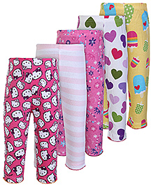 Carters Multi Design Patch Work Legging - Set Of 5