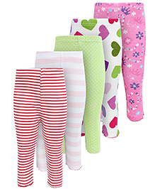 Carters Casual Leggings - Pack Of 5