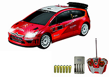 Auldey Citroen C4 Red Remote Controlled Car