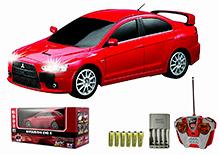 Auldey - Mitsubishi Evo X Red Toy Car