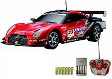Auldey - Nissan GT R Red Toy Car