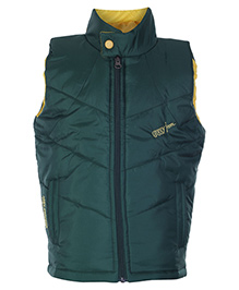 SAPS Sleeveless Front Zipper Jacket
