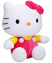 Dimpy Stuff Hello Kitty Soft Toy - Pink And Yellow