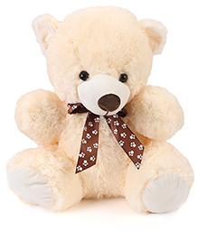 Dimpy Stuff Cute Cream Master Bear Soft Toy - Height 43 cm