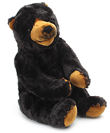 Dimpy Stuff Black Bear Toy - 50 cm