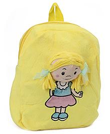 Dimpy Stuff Happy Girl Shoulder Bag - Yellow