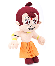 Dimpy Stuff Chhota Bheem Plush Toy - Orange
