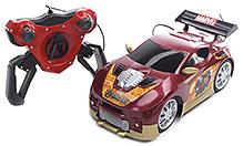 Majorette The Avengers Remote Control Turbo Race Car