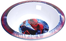Spider Man Print Meal Time Bowl  - White