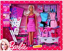 Barbie Dress Up Activity Doll Set 3 Years+, Fun mixing 'n matching these cute looks for Barbie doll and...