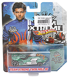 Hotwheels Treme Extreme Twin Mill III - Green