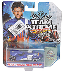 Hotwheels Treme Extreme Twin Mill III - Navy Blue