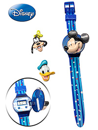 Mickey Mouse And Friends Wrist Watch - Multicolored Dots