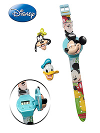 Mickey Mouse And Friends Wrist Watch - Mickey Print