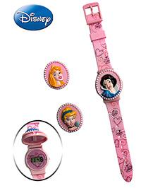 Disney Princesses Watch - Interchangeable Flip Top Covers
