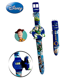 Disney Woody And Buzz Watch - With Interchangeable Strap and Flip Top Covers