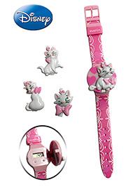 Disney Marie Watch - Interchangeable Flip Top Covers