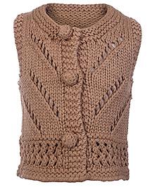 Babyhug Handmade Sleeveless Sweater