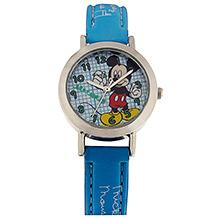 Disney Micky Mouse Kids Wrist Watch - Light Blue