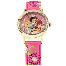 Disney Princess Kids Wrist Watch - Pink