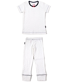 Claesens Short Sleeves Night Suit - Car Print