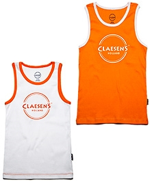 Claesens Sleeveless Printed Vest - Set Of 2