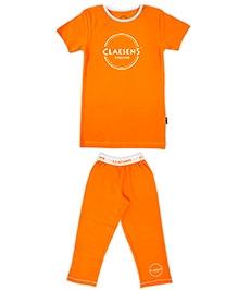 Claesens Short Sleeves Night Suit