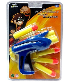 Kid Krrish Foam Blaster - Blue