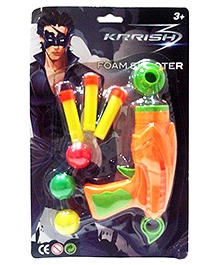 Krrish 3 Foam Shooter - Orange