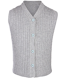 Babyhug Sleeveless V Neck Sweater