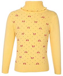 Babyhug Full Sleeves High Neck Sweater