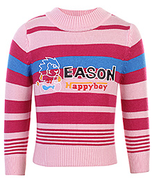 Babyhug Full Sleeves Sweater - Eason Print