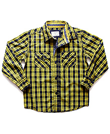 Super Young Full Sleeves Checks Shirt