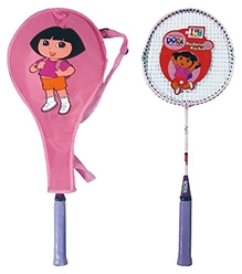 Dora The Explorer Metallic Racket