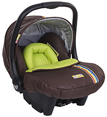 Mee Mee Carry Cot cum Car Seat Brown
