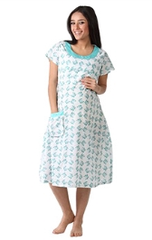 Morph Trendy White Nursing Wear