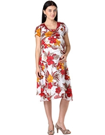 Morph Charming Floral Printed Dress