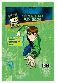 Parragon Ben 10 Ultimate Alien Hero Superhero - Fun Book