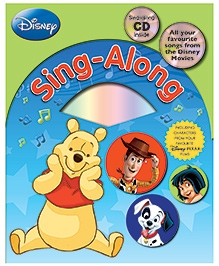 Parragon Disney Sing Along Book With CD