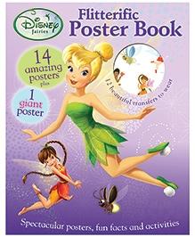 Parragon Disney Fairies Flitterfic Poster Book