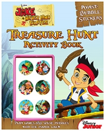 Parragon Disney Junior Jake And The Never Land Pirates Treasure Hunt Activity Book