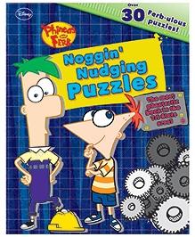 Parragon Disney Phineas And Ferb - Noggin Nudgin Puzzles