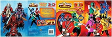 Parragon Sabans Power Rangers Samurai Sticker Scene - Over 80 Stickers