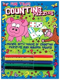Parragon Counting Puzzles