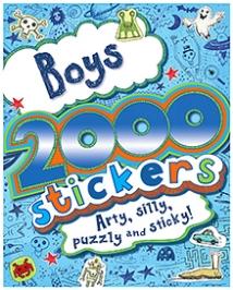 Parragon Boys - 2000 Stickers