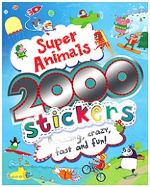 Parragon Super Animals - 2000 Stickers