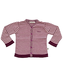 Buzzy Full Sleeves Sweater - Stripes Design