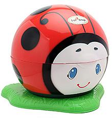 1st Step Ladybug Print Potty Trainer Seat - Red